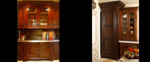 Briarwood buttler pantry and cabinet